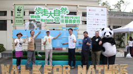 More than 30 HS colleagues together with their relatives and friends joined the Walk for Nature 2017 held at the Mai Po Nature Reserve, in support of protecting Hong Kong's nature.